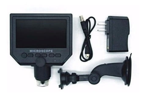 microscopio digital profesional 600x 3.6mp usb lcd hd 4.3 electronica tecnicos ingenieria