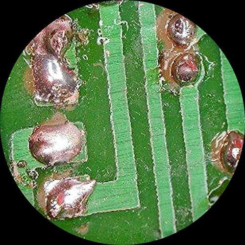 microscopio digital profesional con aumento estereoscópico a