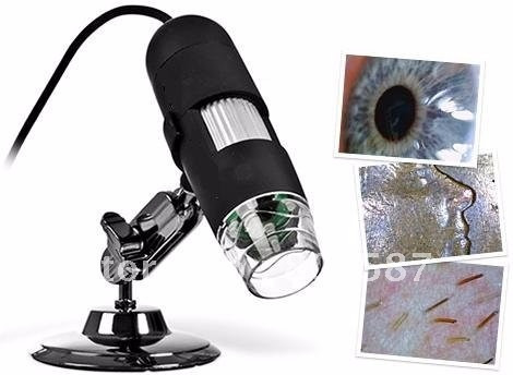 microscopio digital usb 1000x 8 led pc camara 2mp