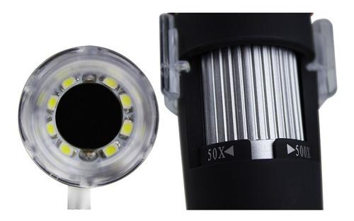 microscópio digital usb 500x zoom 2.0 mp - pronta entrega