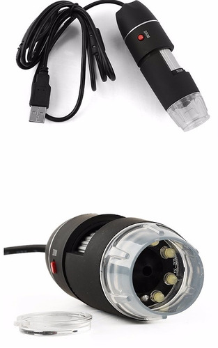 microscopio digital usb 500x zoom optico 8 led win7 xp etc.