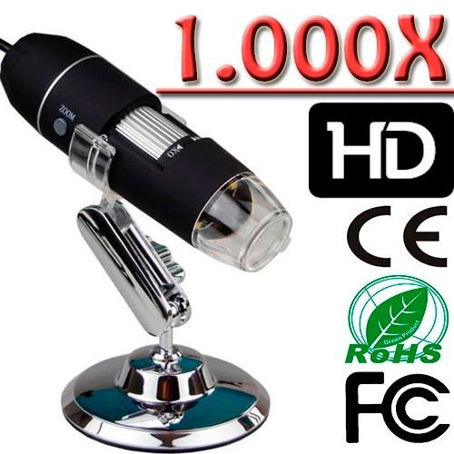 microscópio digital zoom 1000x lupa usb eletronicos placas p
