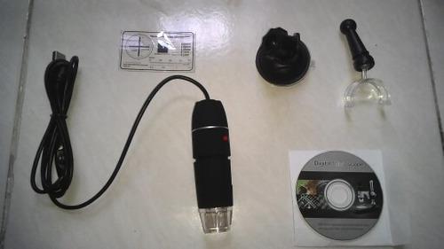 microscopio electronico 40 - 1000x usb con luz led graduable