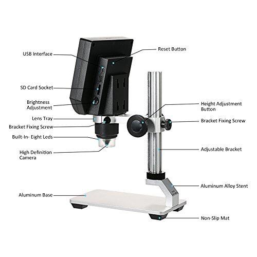 Microscopio Electrónico Digital De Video Kkmoon 600x ...