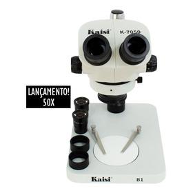 Microscópio Estereoscópico Binocular Profissional