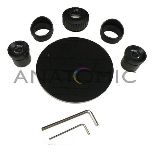 microscópio estereoscópio binocular profissional led opton