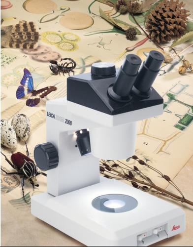 microscopio estereoscopio leica zoom 2000 perfecto cambio