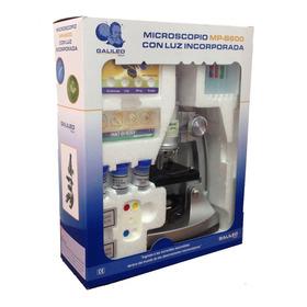 Microscopio Galileo Mp-b600 600x Con Luz Incorporada Nuevo