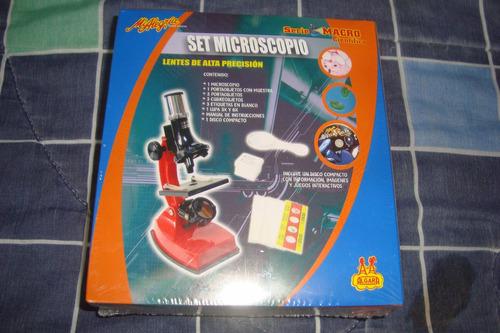 microscopio mini de mi alegria juegos para niños