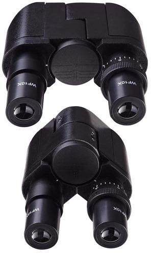 microscopio optico binocular 40x a 2500x