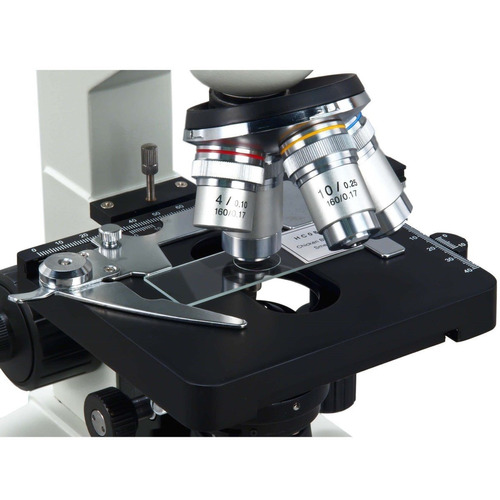 microscopio optico binocular 40x a 2500x con camara usb 3mp