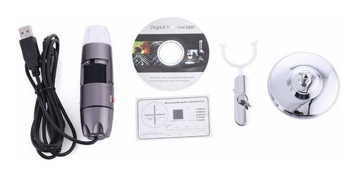 microscopio portatil usb zoom digital 1000x android iphone
