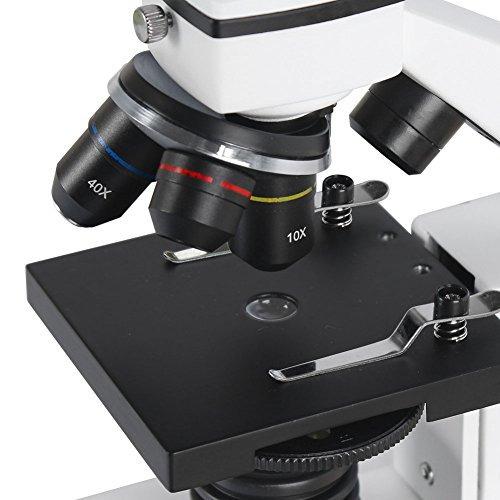 microscopio profesional biológico estudiante- aomekie