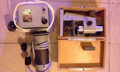 microscopio row rathenow,  alemán