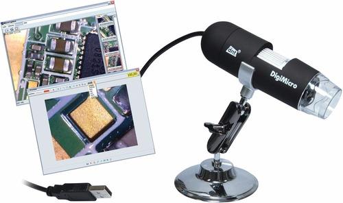 microscopio + usb 2017  estudiante/tecnico/hobista/circuitos
