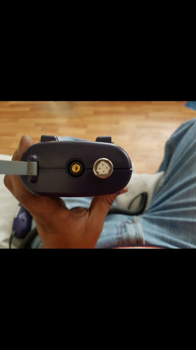 microscopio y potenciometro de fibra optica jdsu hp3