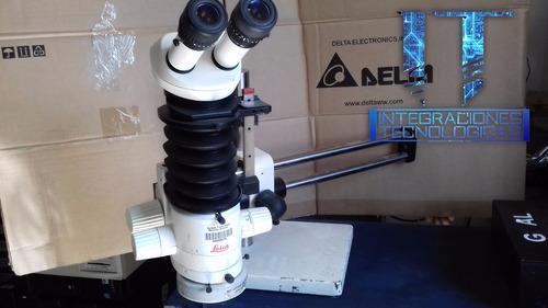 microscopio zoom estéreo leica mz6 it17