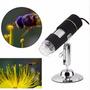 Microscopio Usb 20x-500x, Luces Led Gratis Envio