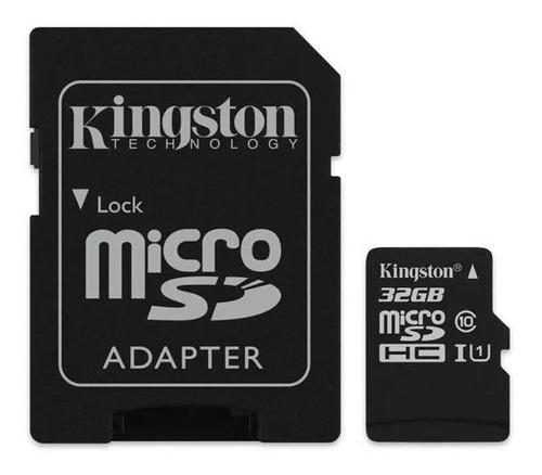 microsd 32gb kingston classe 10 80mb/s original lacrado