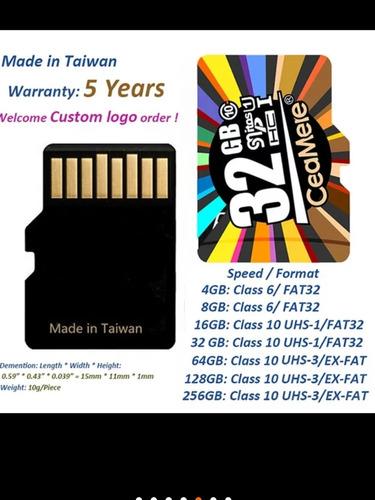 microsd  64gb clase 10,uhs-1,(u3),v30 garantia 1 año