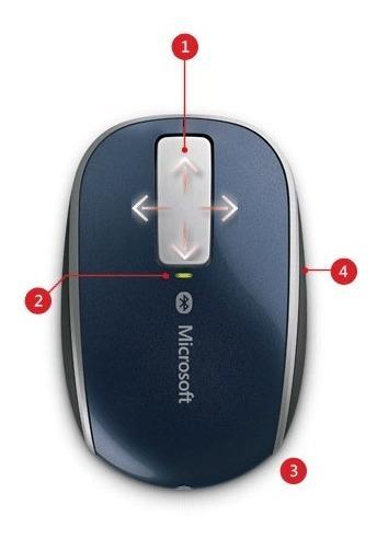 microsoft 6pl-00003 mouse sculpt touch bluethooth /bluetrack
