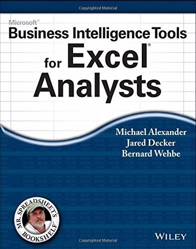microsoft business intelligence tools for excel analyst 2014