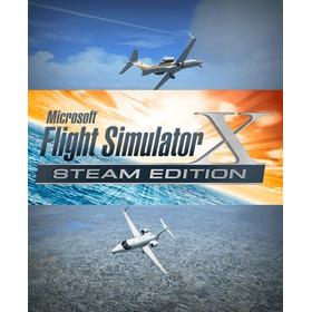 Microsoft Flight Simulator X Pc + Promo 3x2