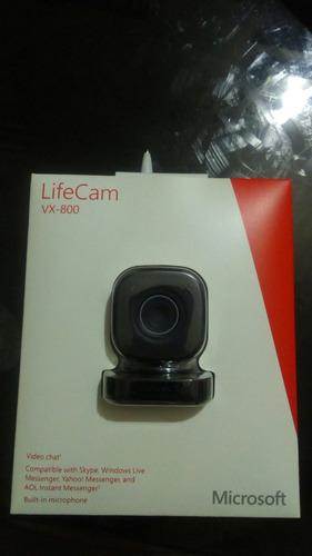microsoft lifecam vx-800 tienda fisica 10$