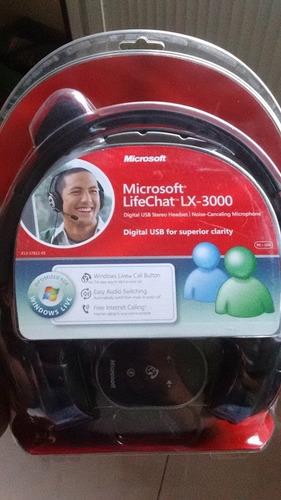 microsoft lifechat lx3000