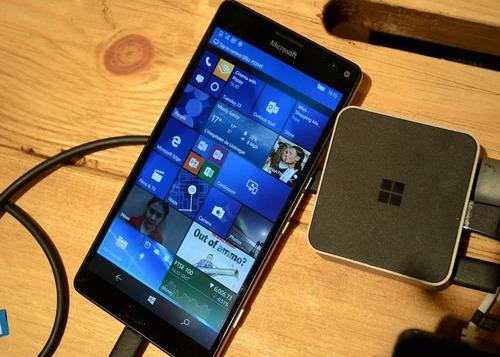 microsoft lumia 950xl dual sim con display dock