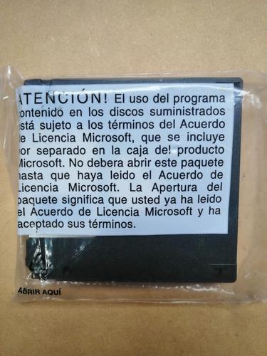 microsoft ms-dos 6.22 diskette original cerrado