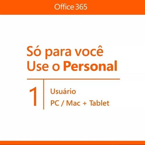 microsoft office 365 +1tb  - anual nota fiscal leia o anunc