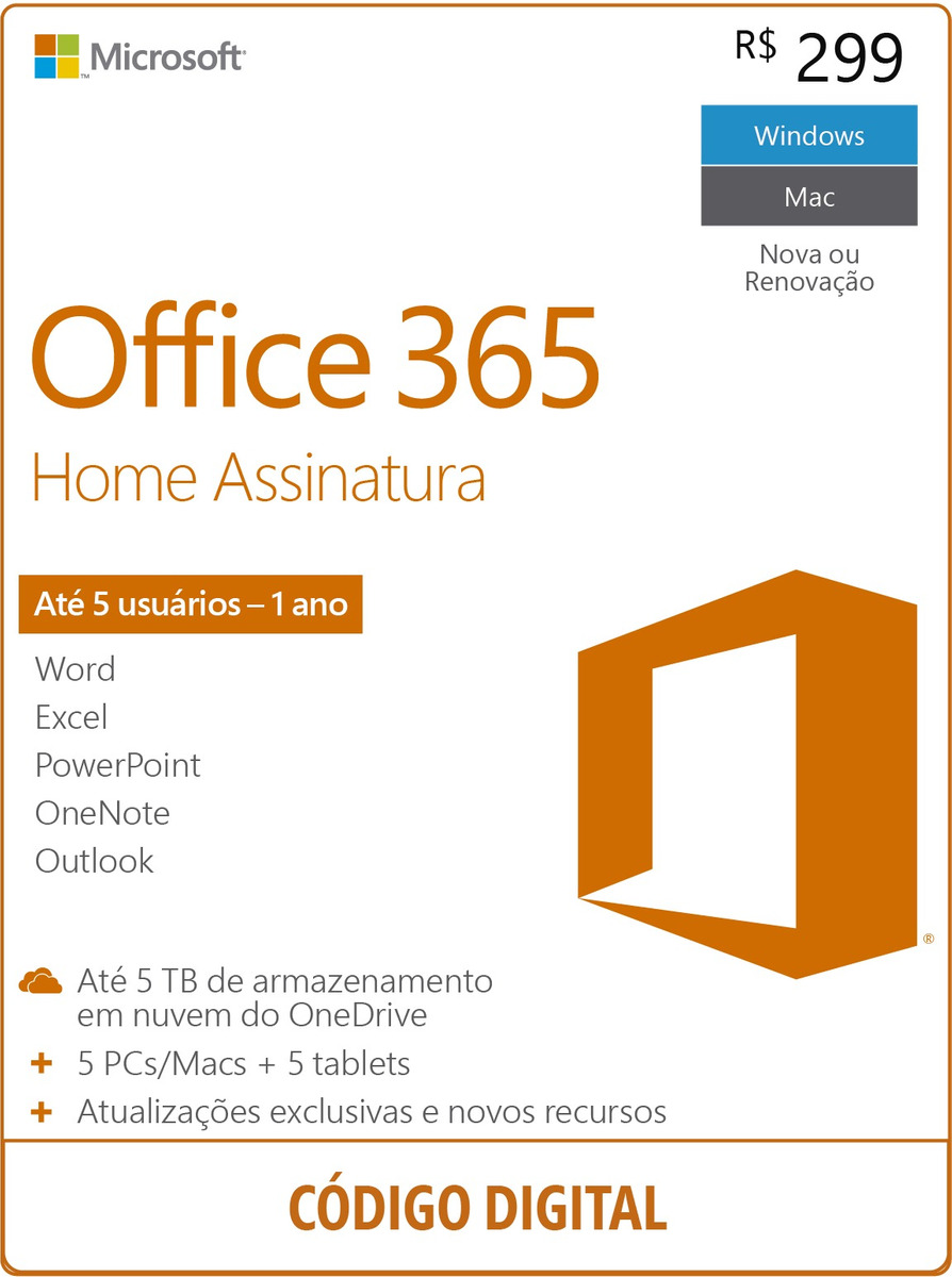 a9ebc6cfb Microsoft Office 365 Home - R  299