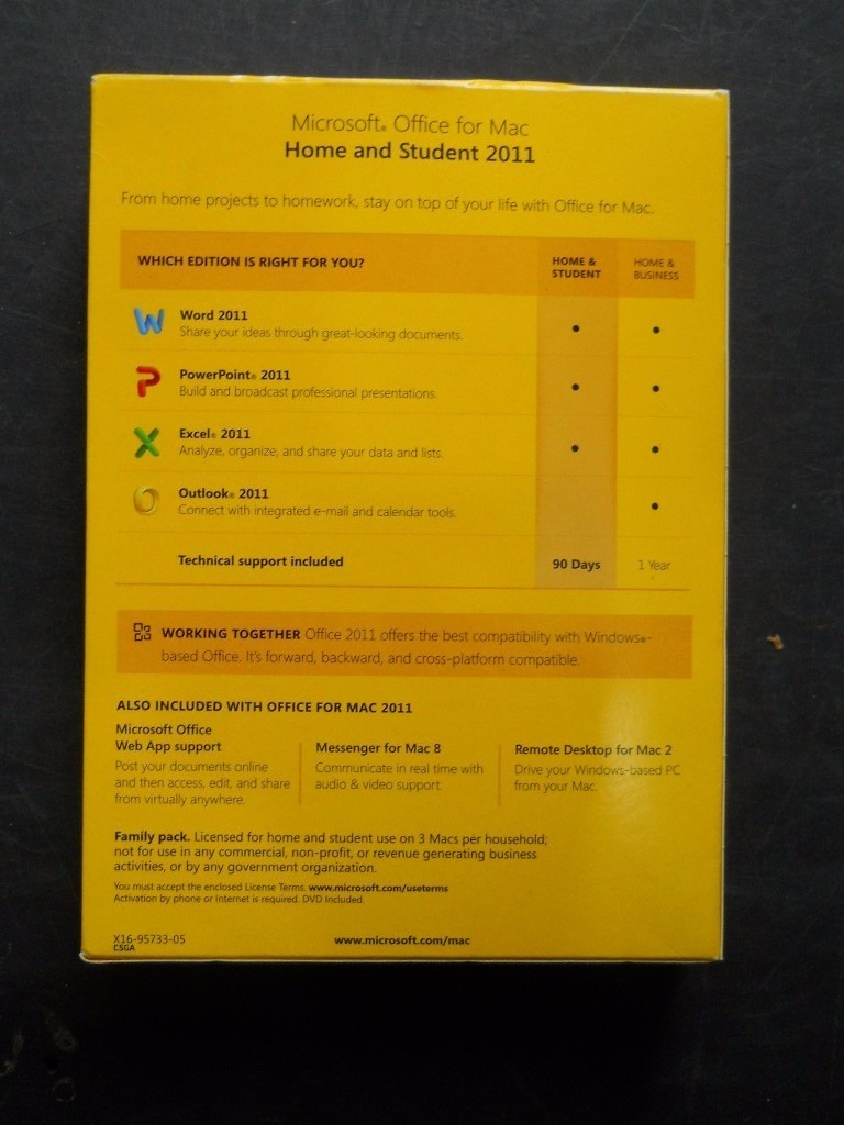 Descarga Microsoft Office 2011 Home & Student