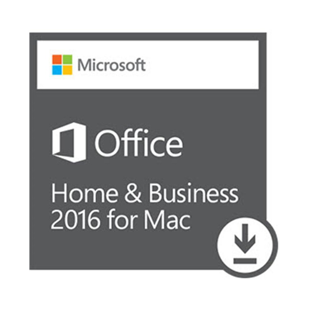 Microsoft Office Mac Home & Business 1usuario Esd W6f-00608 ...