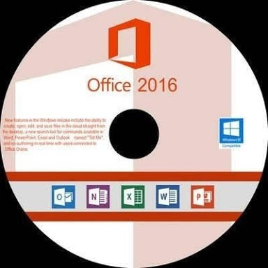 microsoft office 2016 on cd