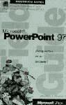 microsoft powerpoint 97. referencia rápida(libro microsoft p