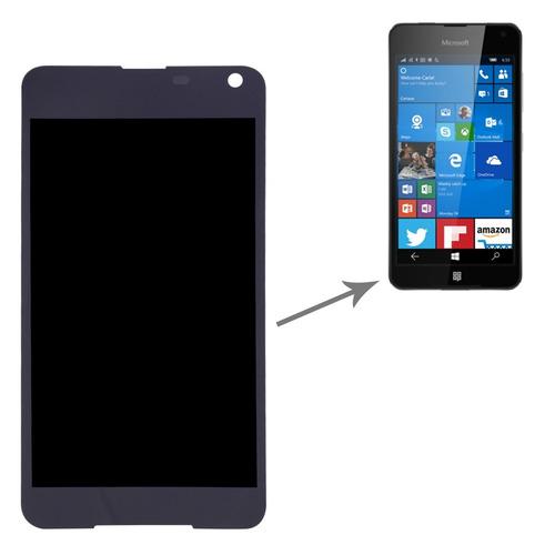 microsoft repuesto pantalla lcd para lumia 650 screen negro