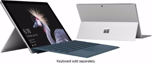 microsoft surface pro 5 256gb i7 8gb sellada d fabrica