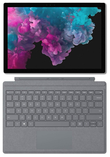 microsoft surface pro 6 com teclado (i5, 8 gb ram, 128gb hd)