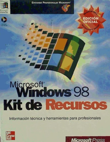 microsoft windows 98. kit de recursos(libro windows)