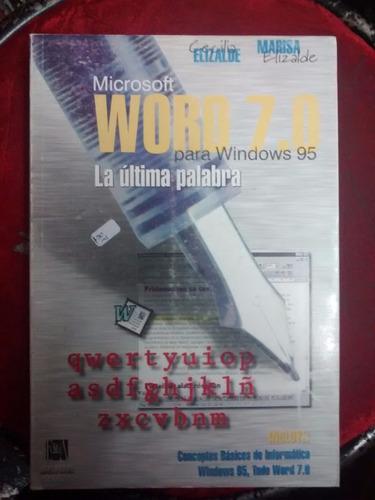microsoft word para windows 95
