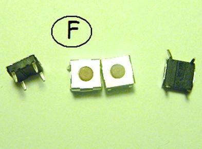 microswitch, botones para llaves y tablet