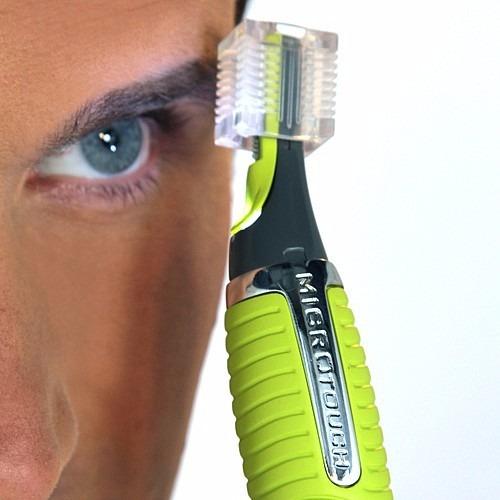 microtouch cortadora de vello facial nariz orejas nuca cejas