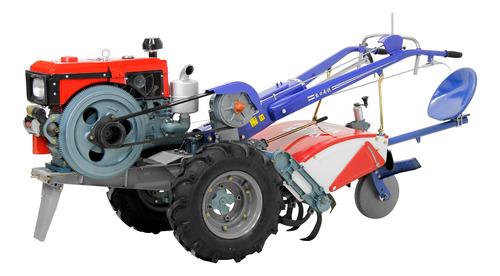 microtrator motocultivador diesel com enxada rotativa 16.5hp