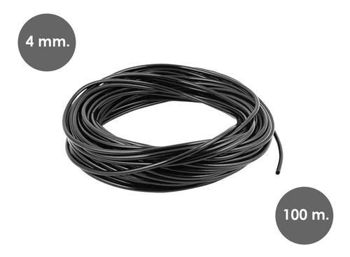 microtubería tubin rollo riego por goteo microtubo x 100 mts