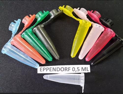 microtubo eppendorf 0.5 ml 10 mil unidades/ frete gratis