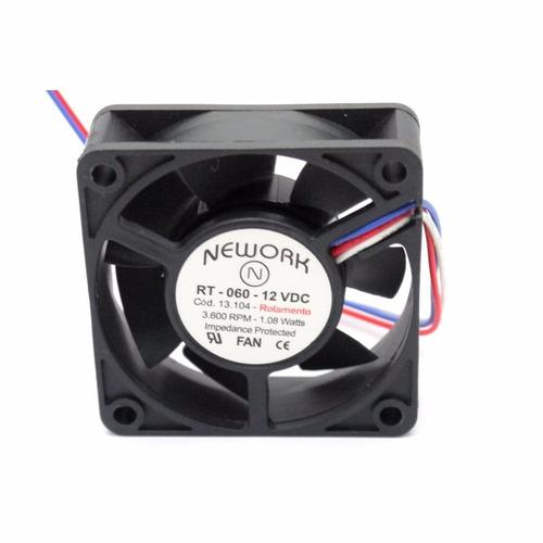 microventilador cooler rt-060 12vdc 3.600rpm 1.08 watts