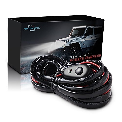 Mictuning led light bar mazo de cables off road power 40a 60277 mictuning led light bar mazo de cables off road power 40a aloadofball Image collections