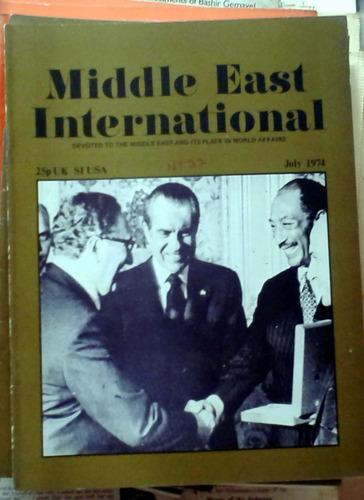 middle east international - july 1974 n°37 london 34p buen e